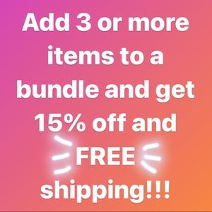 Entire closet- Bundle and save!!